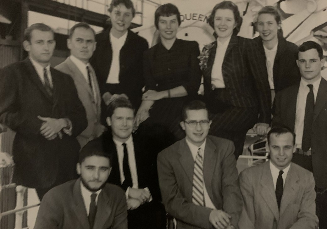 The class of 1956