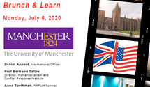 Virtual UK Study Tour Manchester July 6